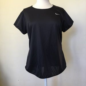 Dri-Fit Black T-Shirt, Size XL (16-18)